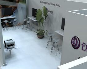 Stand diseñado para feria en IFEMA